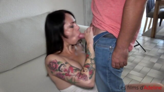 DAP with dildo, huge toy and.. anal hardcore facial