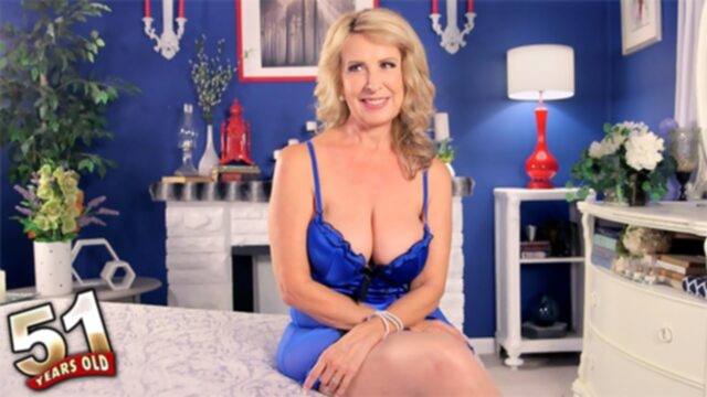 Welcome The New Hot Mama -.. big tits blonde casting