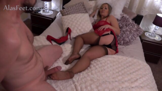 Amazing sex clip MILF crazy.. fetish foot fetish footjob