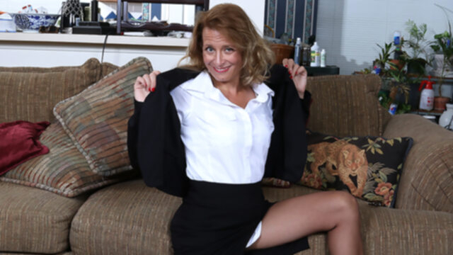 Naughty American Secretary.. dutch european lingerie
