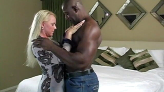 Toro64 blonde interracial milf