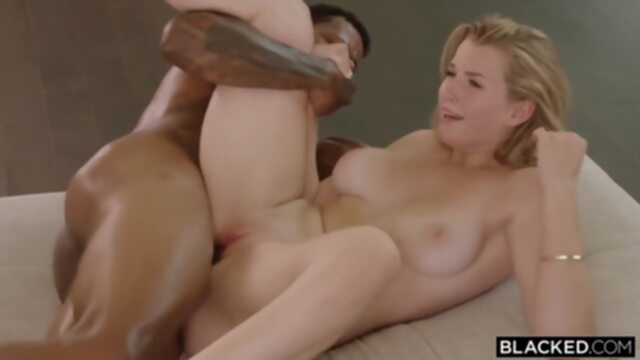 Mia Melano - Cold Feet big cock blonde deepthroat