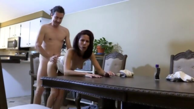 Skinny wife is fucking a man.. anal big cock handjob